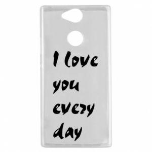 Sony Xperia XA2 Case I love you every day