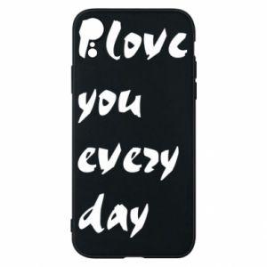 Etui na iPhone XR I love you every day