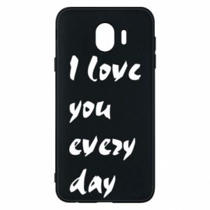 Etui na Samsung J4 I love you every day