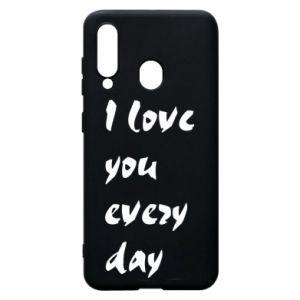 Etui na Samsung A60 I love you every day