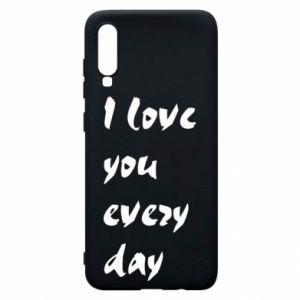 Etui na Samsung A70 I love you every day
