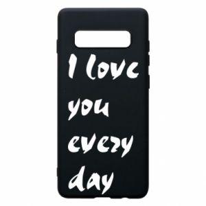 Etui na Samsung S10+ I love you every day