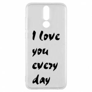 Etui na Huawei Mate 10 Lite I love you every day