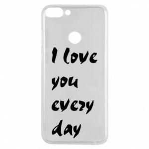 Etui na Huawei P Smart I love you every day