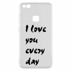 Etui na Huawei P10 Lite I love you every day