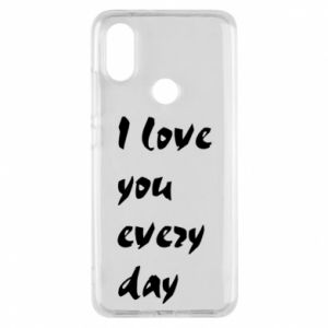 Etui na Xiaomi Mi A2 I love you every day
