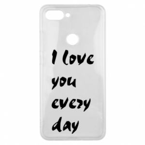 Etui na Xiaomi Mi8 Lite I love you every day