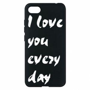 Etui na Xiaomi Redmi 6A I love you every day