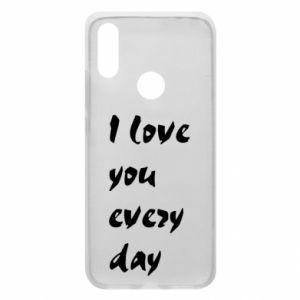Etui na Xiaomi Redmi 7 I love you every day
