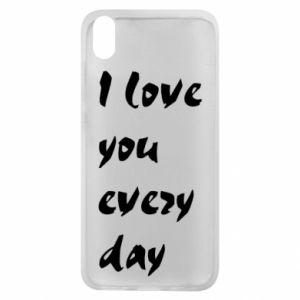 Etui na Xiaomi Redmi 7A I love you every day
