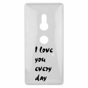 Sony Xperia XZ2 Case I love you every day