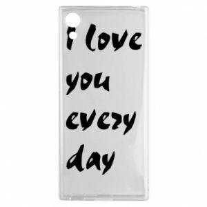 Sony Xperia XA1 Case I love you every day