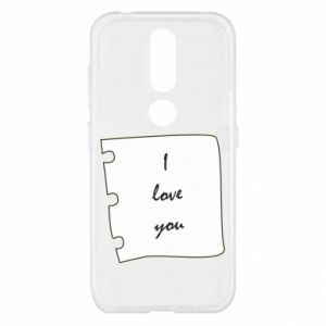 Nokia 4.2 Case I love you