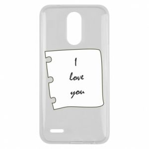 Lg K10 2017 Case I love you