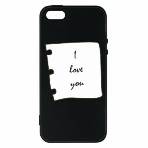 iPhone 5/5S/SE Case I love you