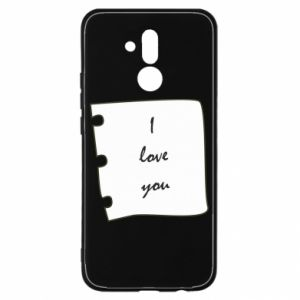 Huawei Mate 20Lite Case I love you