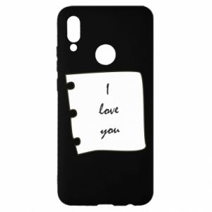 Huawei P Smart 2019 Case I love you