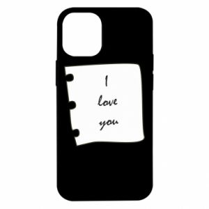 iPhone 12 Mini Case I love you
