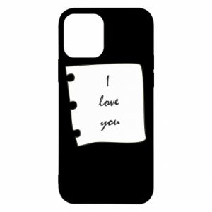 iPhone 12/12 Pro Case I love you