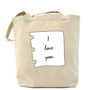 Bag I love you