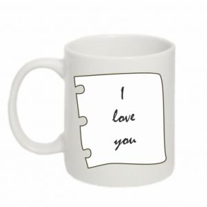 Mug 330ml I love you