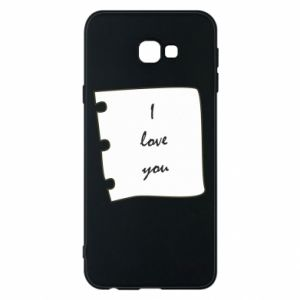 Samsung J4 Plus 2018 Case I love you