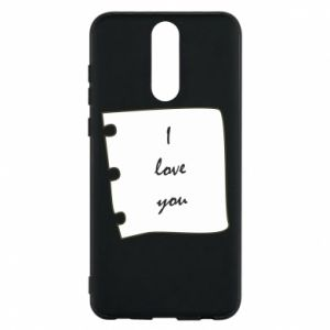 Huawei Mate 10 Lite Case I love you