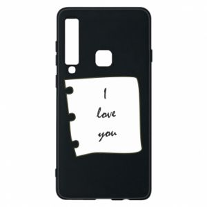 Samsung A9 2018 Case I love you