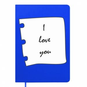 Notepad I love you