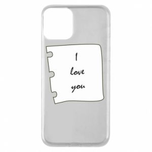 iPhone 11 Case I love you