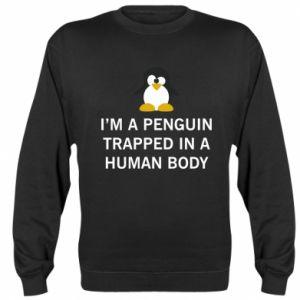Bluza (raglan) I'm a penguin