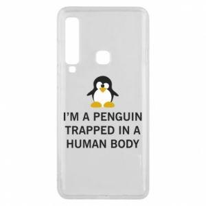Etui na Samsung A9 2018 I'm a penguin