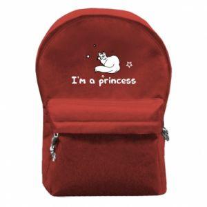 Plecak z przednią kieszenią I'm a princess
