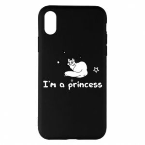 Etui na iPhone X/Xs I'm a princess