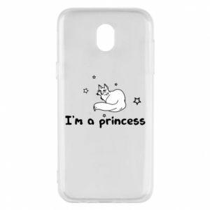 Etui na Samsung J5 2017 I'm a princess