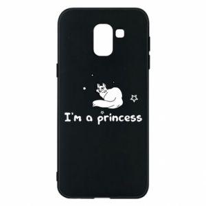 Etui na Samsung J6 I'm a princess