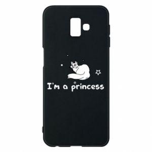 Etui na Samsung J6 Plus 2018 I'm a princess