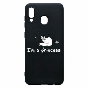 Etui na Samsung A20 I'm a princess