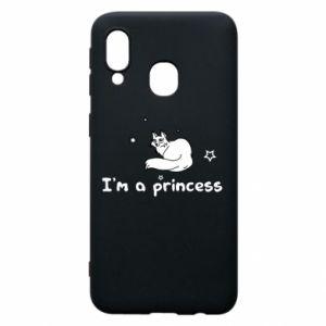Etui na Samsung A40 I'm a princess
