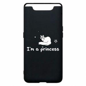 Etui na Samsung A80 I'm a princess