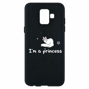 Etui na Samsung A6 2018 I'm a princess