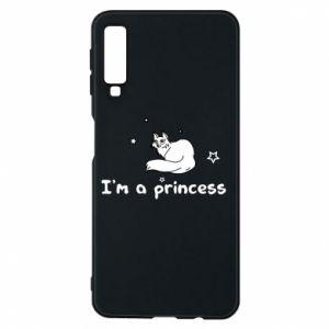 Etui na Samsung A7 2018 I'm a princess