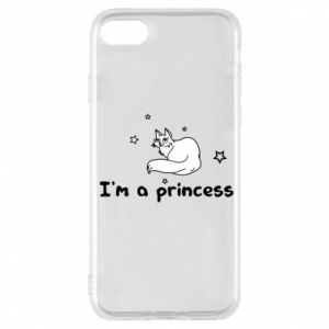 Etui na iPhone 7 I'm a princess