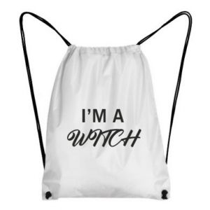 Plecak-worek I'm a witch
