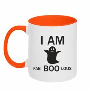 Two-toned mug I'm bab BOO lous - PrintSalon