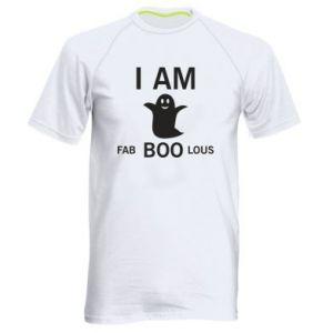 Men's sports t-shirt I'm bab BOO lous - PrintSalon