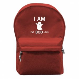 Backpack with front pocket I'm bab BOO lous - PrintSalon