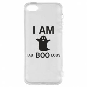 Phone case for iPhone 5/5S/SE I'm bab BOO lous - PrintSalon