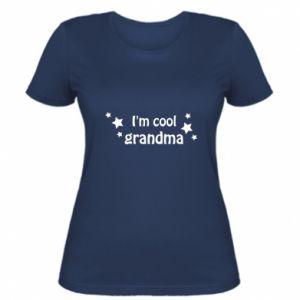 Damska koszulka I'm cool grandma