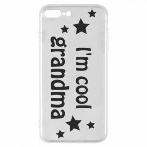 Etui na iPhone 8 Plus I'm cool grandma
